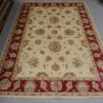 tappeto sala ziegler fondo avorio