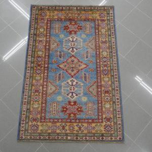 tappeto kazak azzurro