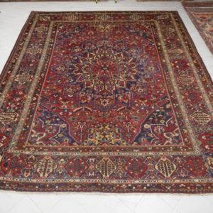 tappeto bakhtiari elegante colori caldi