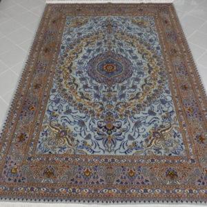 tappeto da salotto fondo azzurro