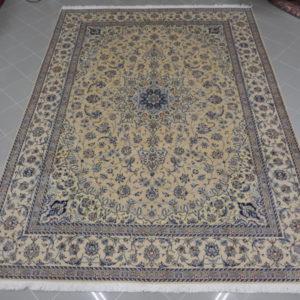 tappeto nain grande color crema